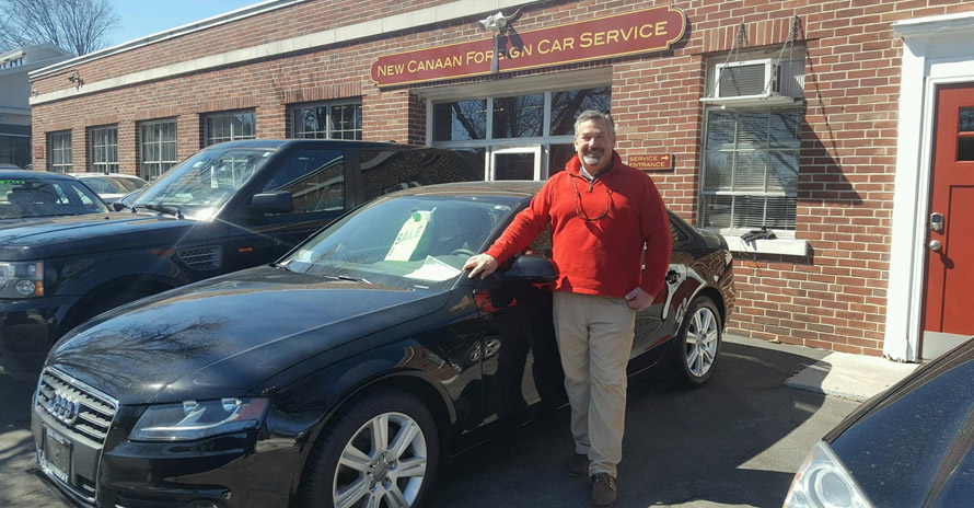 classic car on sale by New Canaan Foreign Car Service